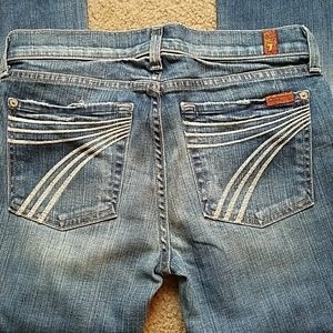 NWOT 7 for All Mankind Dojo Jeans